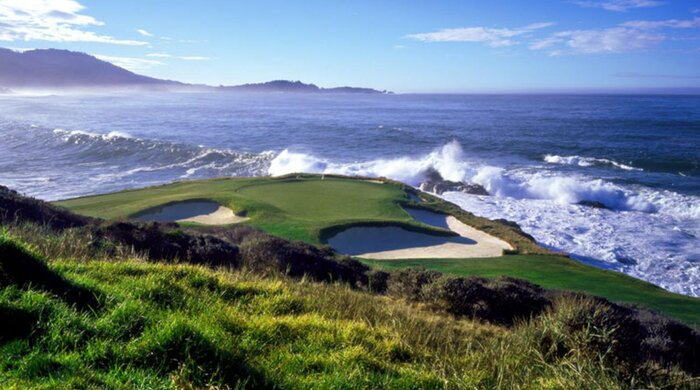 The Views At Pebble Beach Are Some Of Best In World