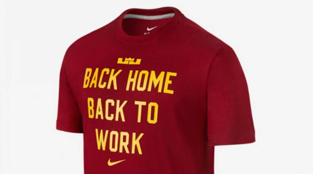 online store bc845 ea51f via Nike.com. Nike s is taking pre-orders on their new LeBron James shirt  ...