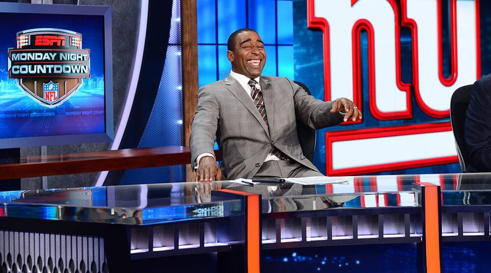 ESPN analyst Cris Carter's recent coverage of the NFL shows