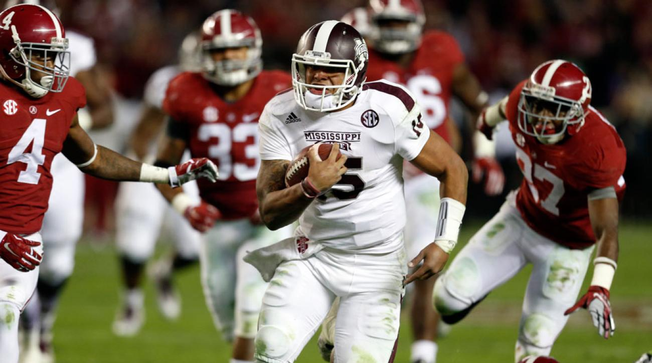 College Football Odds Mississippi State Home Dogs Vs Alabama Si Com