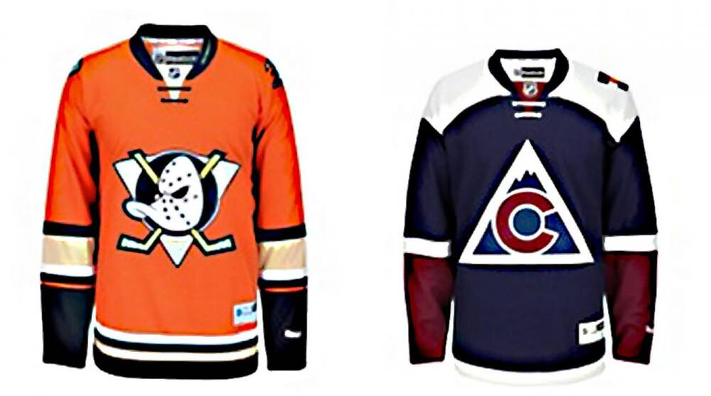 check out 7c6f8 625b8 Anaheim Ducks, Colorado Avalanche get new third jerseys | SI.com
