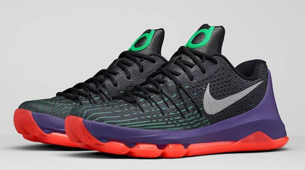 los angeles 04f88 16482 Kevin Durant's latest KD8 colorway features odes to Bird ...