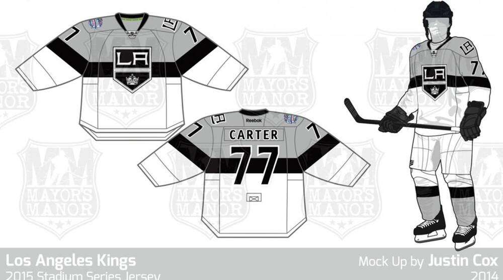Did the Kings  jerseys for the upcoming Stadium Series game against ... 31d6cafd7