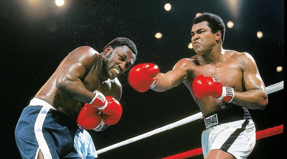 25 years later, Ali and Frazier are still slugging it out