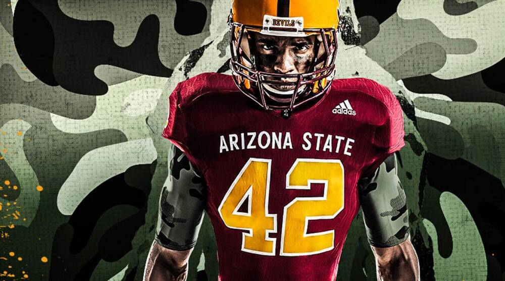 finest selection 9ac14 17424 Arizona State football to wear Pat Tillman-themed uniforms ...