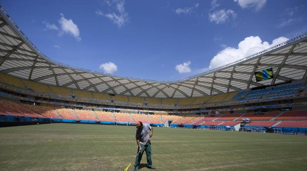 Greetings from Brazil  Building a World Cup stadium fit for the Amazon c31232f20