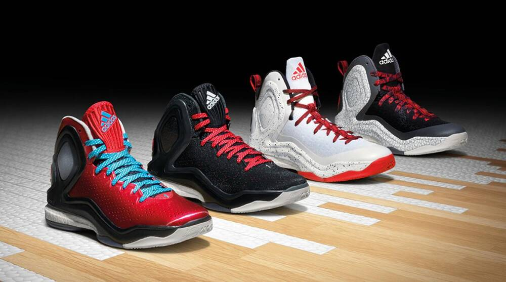 123056c1e7c Hoops Help  Adidas Adds Boost Cushioning to Crazylight and D Rose 5 ...