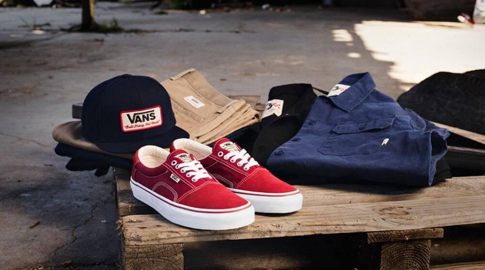 fe4edc508f9 Geoff Rowley s signature Vans kicks and clothing line  Good is in the  details