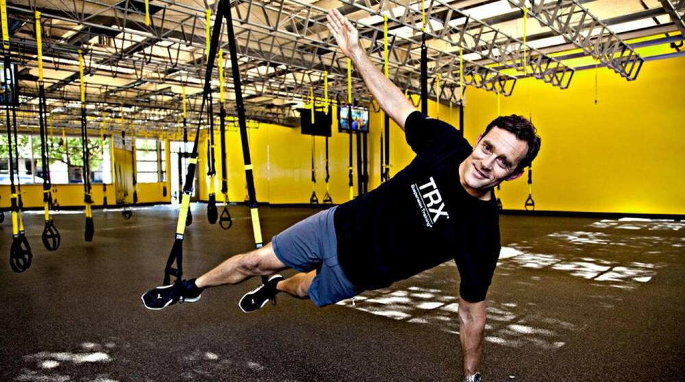 buy online a2f3a 91a4f Randy Hetrick, the inventor of the TRX, talks about how he came up with
