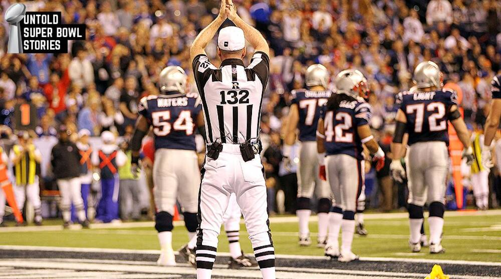 NFL referee John Parry officiated Super Bowl XLVI perfectly  5795d5c68