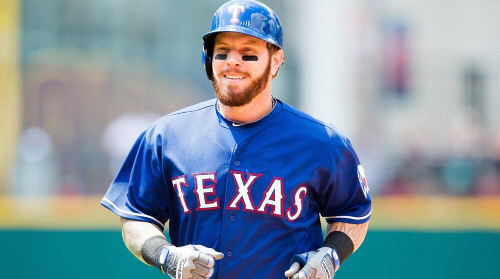 best authentic 13883 ce9f1 Josh Hamilton the bargain of 2015 for Texas Rangers   SI.com