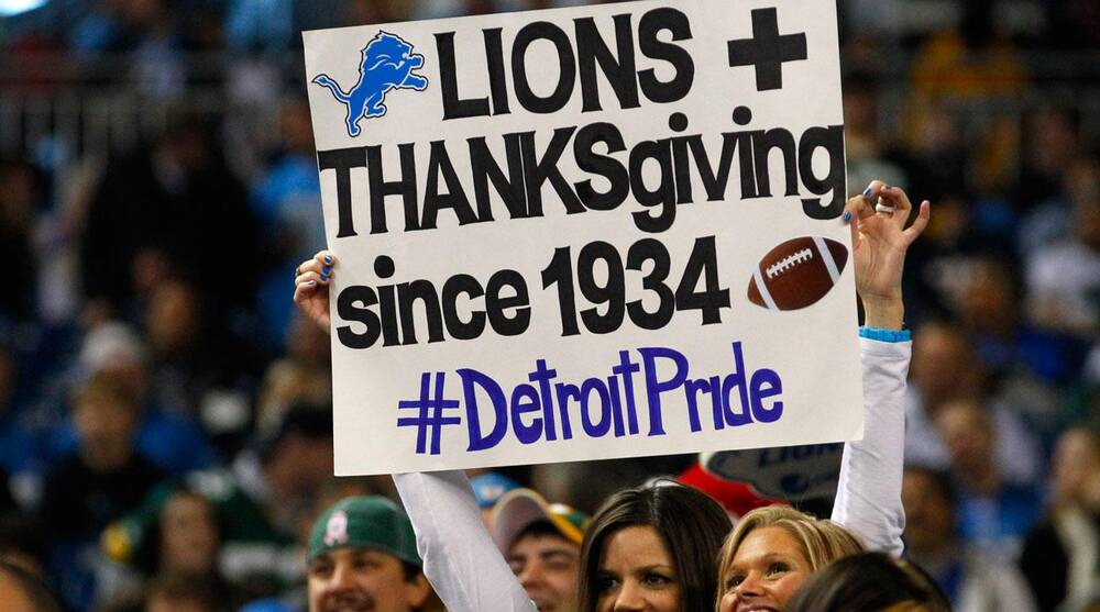 599ae7a8 Detroit Lions Thanksgiving Day game in pictures | SI.com