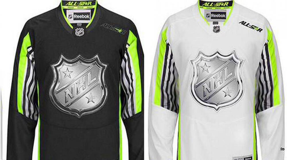 NHL releases its 2015 All-Star Game jerseys and they re ... neon  2d72db27a33