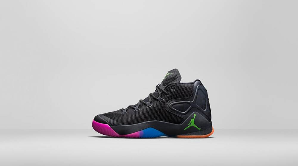9e564a894e1f Jordan pays tribute to Carmelo Anthony s youth with Melo M12