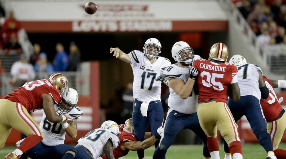 San Diego Chargers mount masterful comeback over San Francisco 49ers ... 75d1e3b75c8b