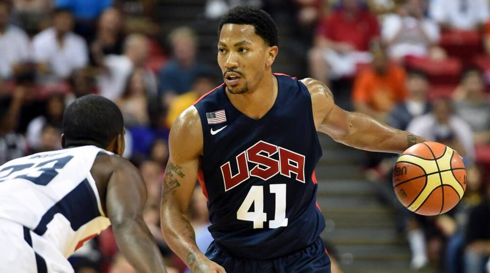 040ed071d54 Derrick Rose is ready to lead USA Basketball after a number of roster  changes in recent
