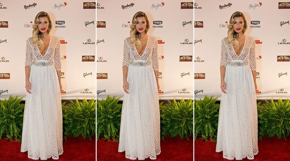 50843cf32594c Channel Samantha Hoopes' red-carpet style with Dress for the Day ...
