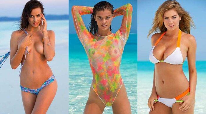 Irina Shayk Nina Agdal And Kate Upton SI Swimsuit 2014