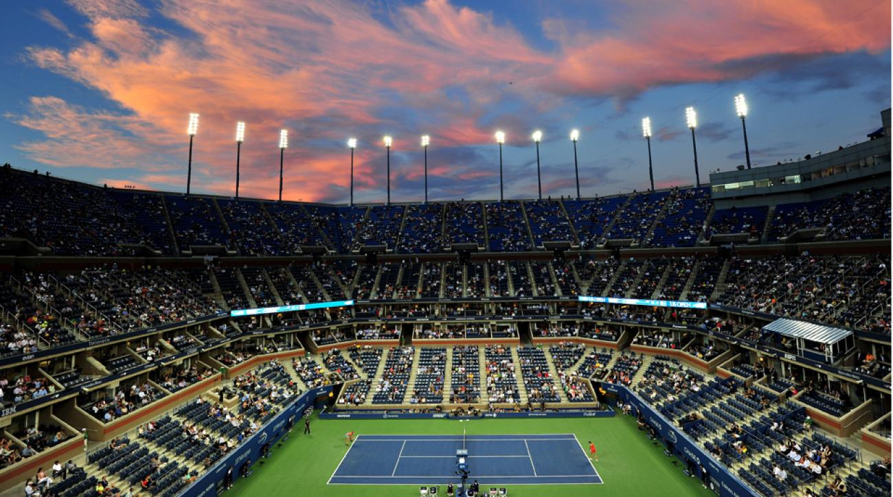 Image result for US OPEN COURT