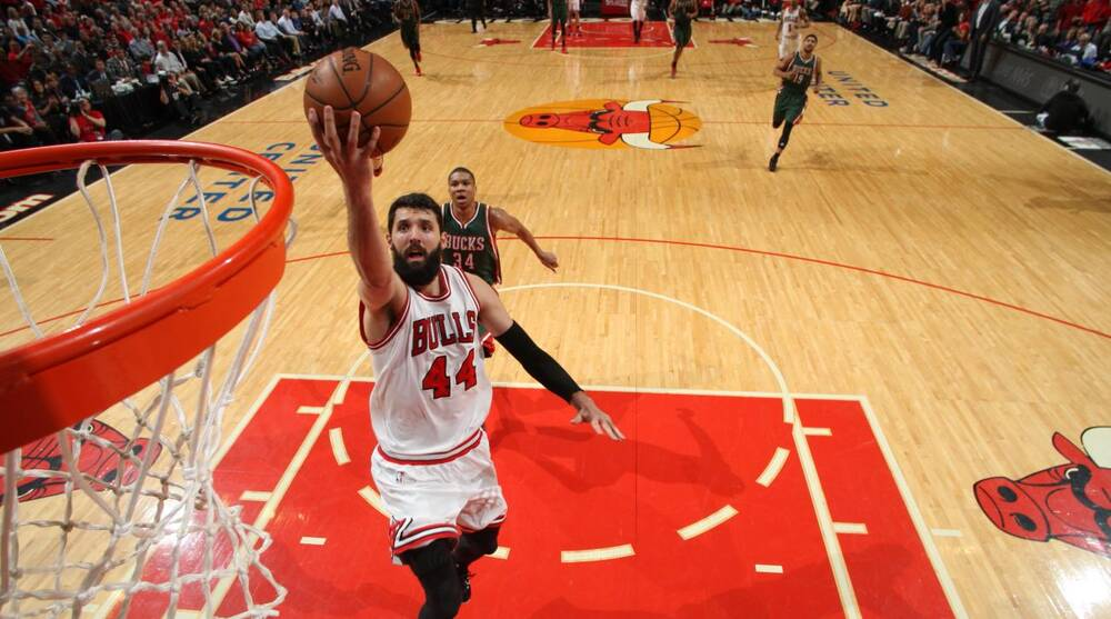 Bulls  Mirotic out for Game 3 at Milwaukee  a59f3af2e