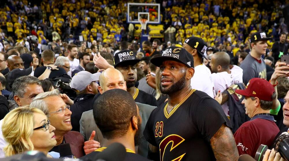 79638ecdf50 James and Cavaliers win thrilling NBA Finals Game 7