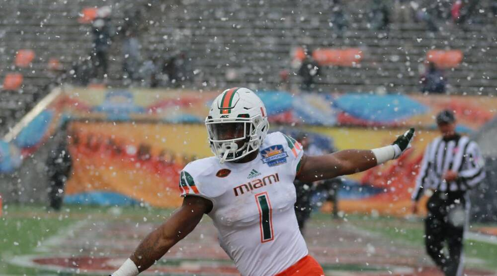 Miami Suspends Rb Mark Walton After Arrest On Dui Charge