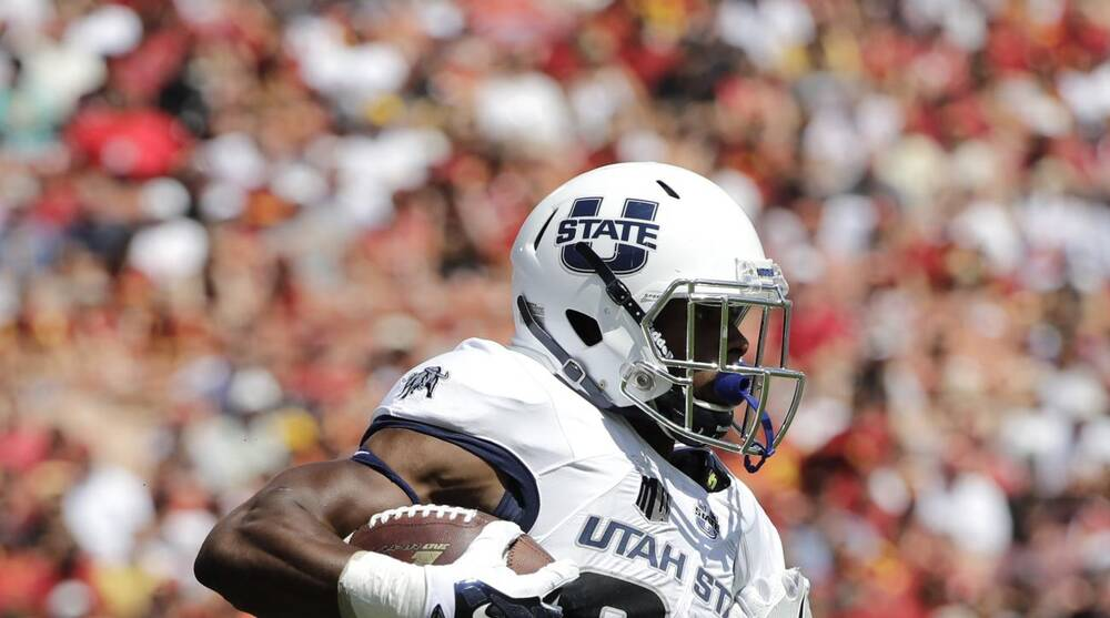 new concept d5bf6 78f00 USC bounces back with 45-7 win over Utah St | SI.com