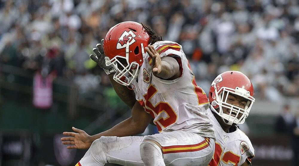 c5a5e764 Chiefs RB Spencer Ware can coexist with Jamaal Charles   SI.com