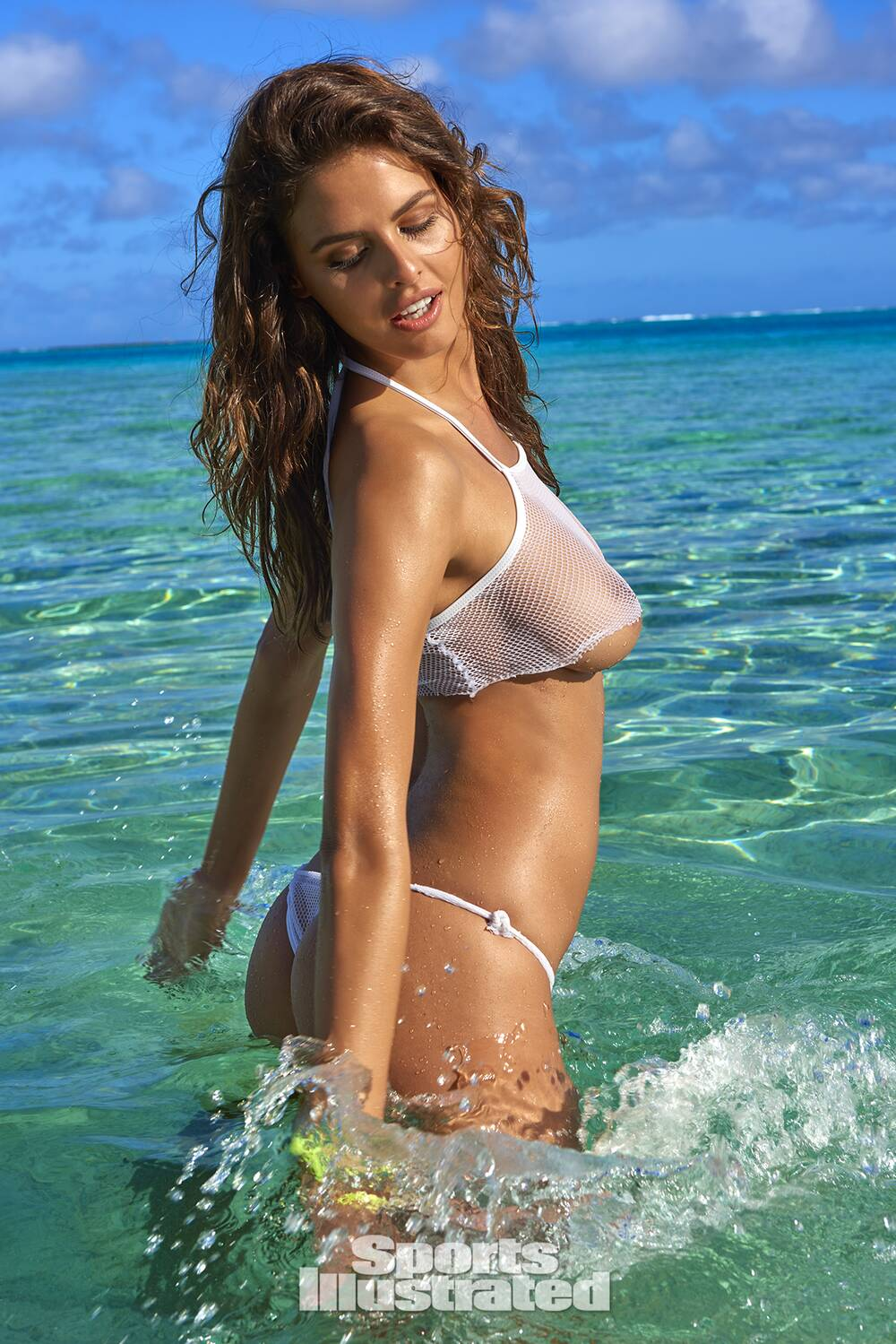 ac29d27db51ad Bo Krsmanovic was photographed by Yu Tsai in The Islands Of Tahiti. Swimsuit  by Lee