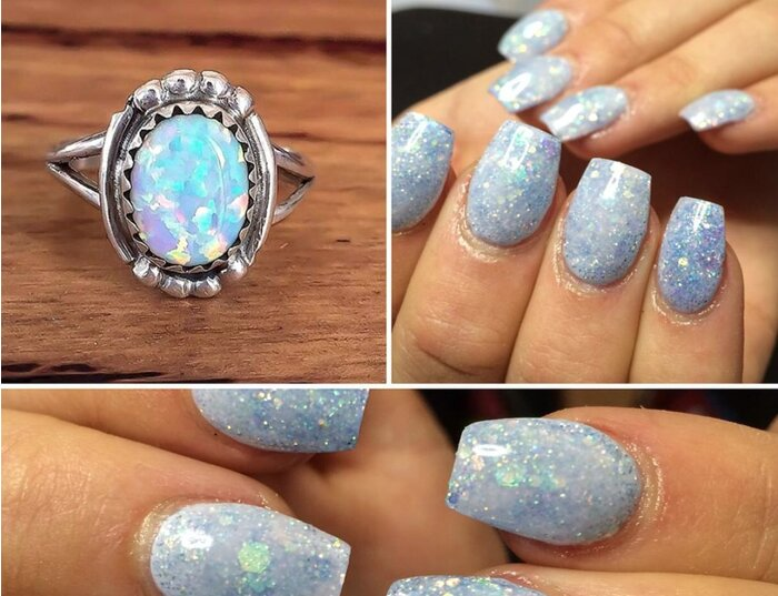 Opal Nails Are Taking Over Instagram And We Can T Look Away Hellogiggles