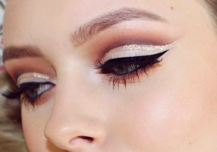 Glitter Crease Is Here And Its The Prettiest Makeup Trend Of The