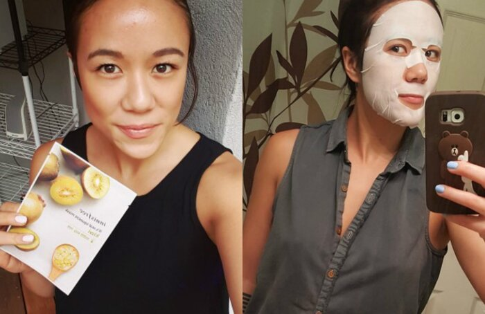 I Used Korean Face Masks For Four Days In A Row And It Was A Total