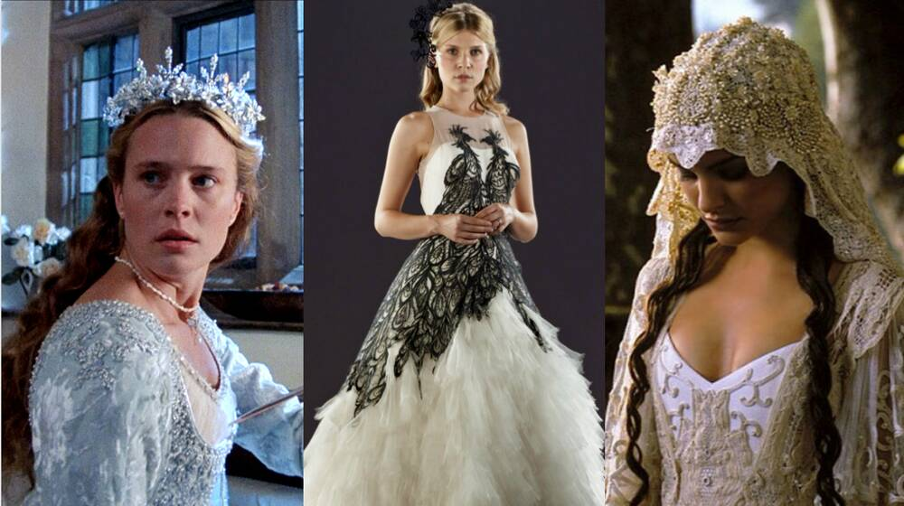 27 Iconic Movie Wedding Dresses That Will Give You All The Gowngoals Hellogiggles