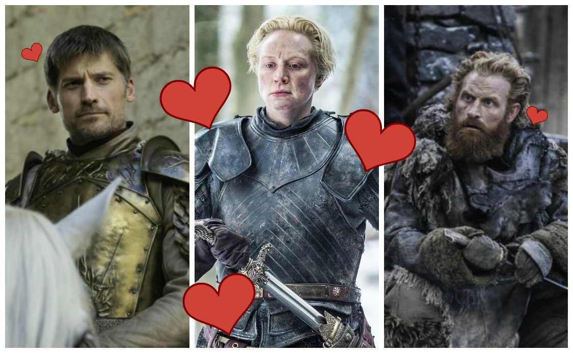 Image result for BRIENNE TORMUND JAIME