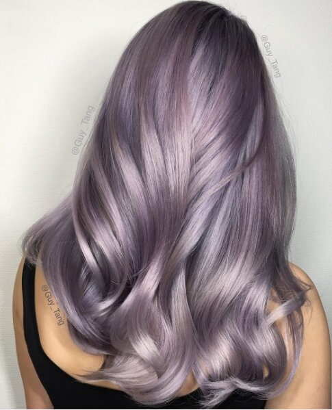 Smoky lilac is the most subtle cool hair color yet hellogiggles solutioingenieria Gallery
