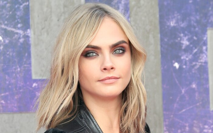 Cara Delevingne looked like the most badass biker chick at the ...