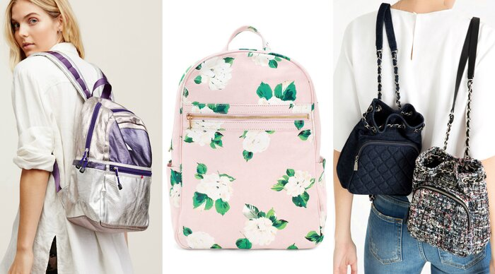 13 swoon-worthy backpacks for those who hate carrying purses ... : quilted rucksack zara - Adamdwight.com