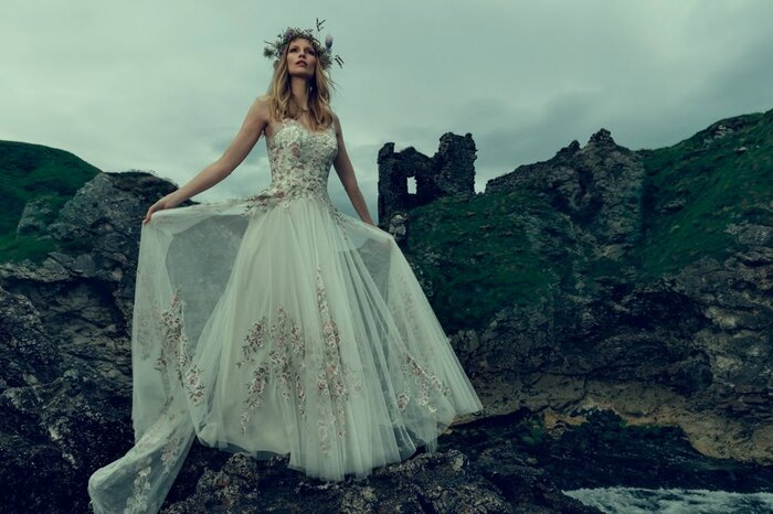 Bhldn S Fall Wedding Collection Looks Like It Was Inspired By Sleeping Beauty