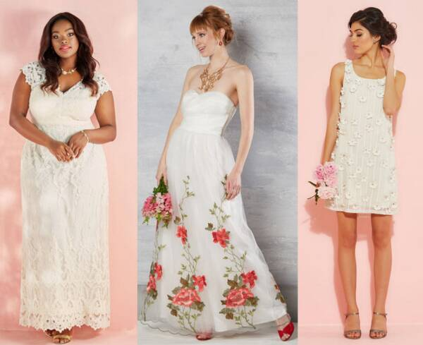 12 Wedding Dresses To Nab During Modcloth S Huge Just In Time For Your Fall Nuptials Hellogiggles