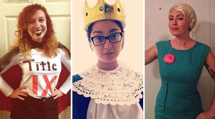 14 feminist halloween costumes you can recreate for next to nothing hellogiggles