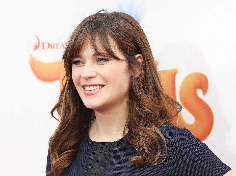 Zooey Deschanel talks about rapping in front of Justin Timberlake ...