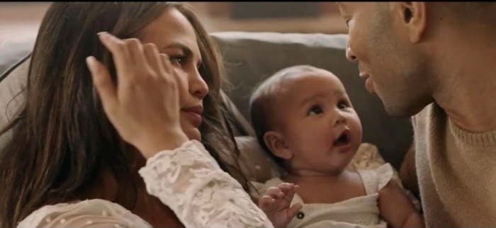 John legends new love me now video features chrissy teigen amp john legends new love me now video features chrissy teigen baby luna and will have you sobbing ccuart Gallery