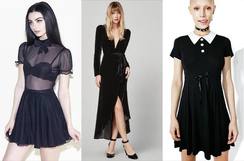 13 Dress Ideas For The Everyday Goth Who Still Wants To Look Morbid Holidays Hellogiggles