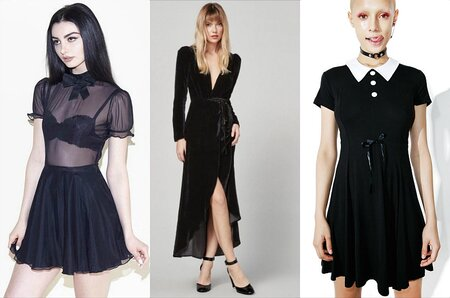 13 Dress Ideas For The Everyday Goth Who Still Wants To Look Morbid