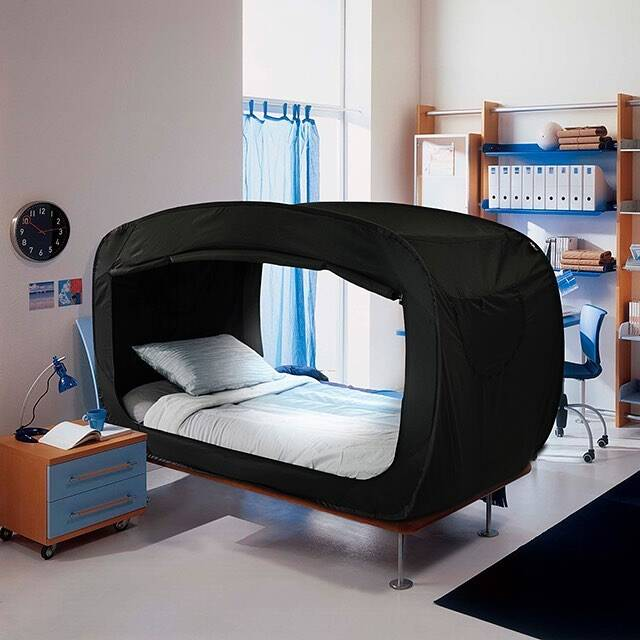 This Bed That Turns Into A Fort Is Perfect For Anyone Who Suffers From Anxiety Hellogiggles