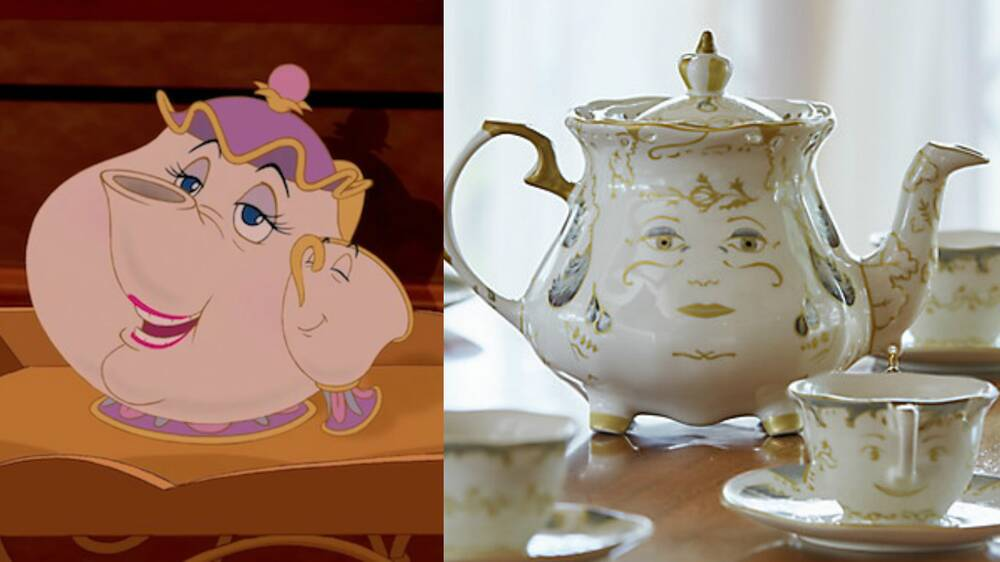 Just This Beauty And The Beast Tea Set Or You Will Regret It For Rest Of Your Life Hellogiggles