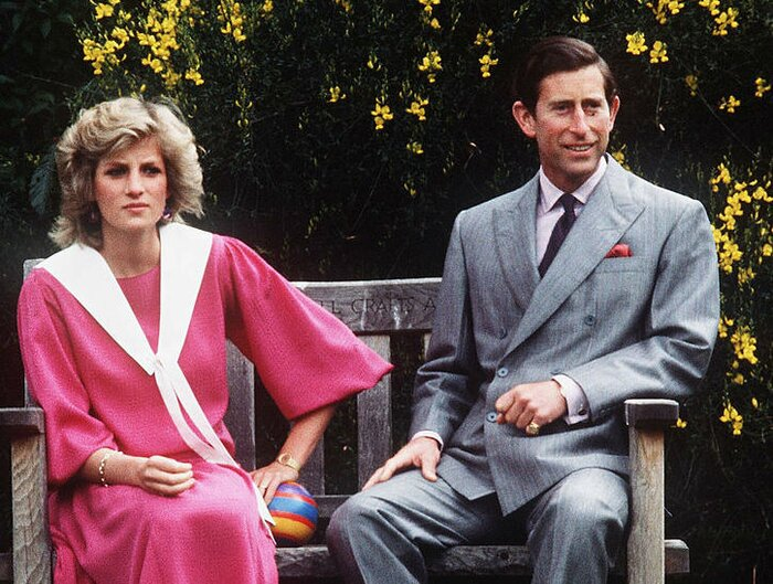 Image result for charles and diana