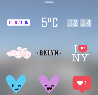 Heres how to use instagrams new location based stickers hellogiggles ccuart Gallery
