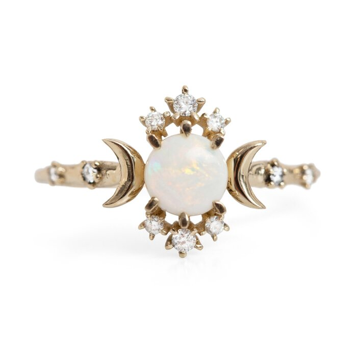 non traditional wedding nontraditional rings mydomaine pinterestshop stunning product