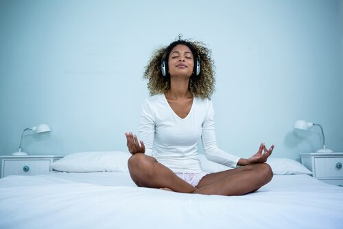 Image result for meditate in bed